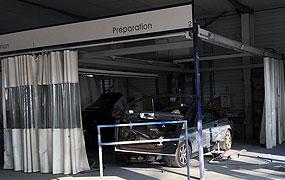 Carrosserie peinture auto camping car peintre carrossier for Garage du redon