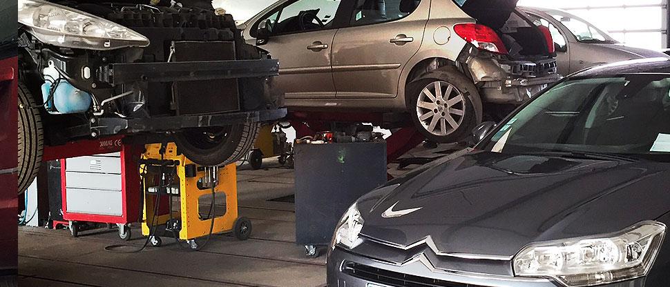 Carrosserie Seillé : Garage : réparation mécanique
